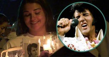 elvis presley candlelight vigil