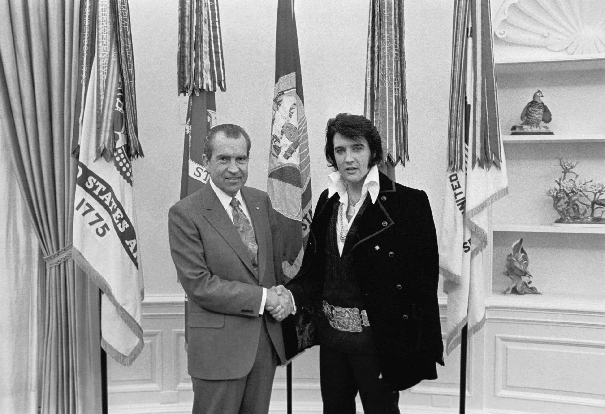Remembering The Time Elvis Presley Called The Beatles 'Anti-American' To President Nixon