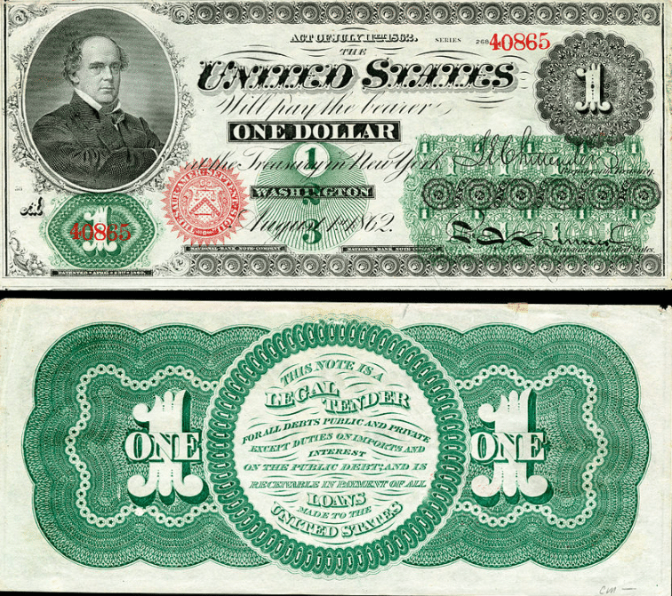 the history of the dollar bill