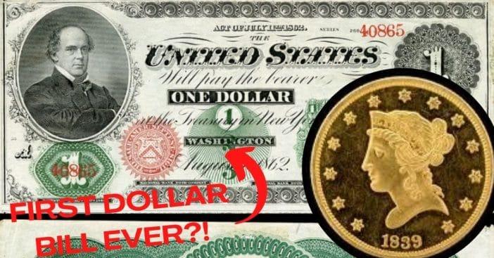 history of dollar bill
