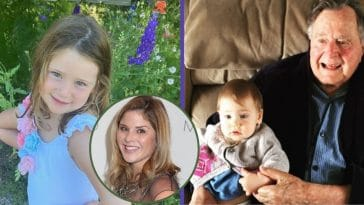 jenna bush hager birthday post for poppy honors george hw bush