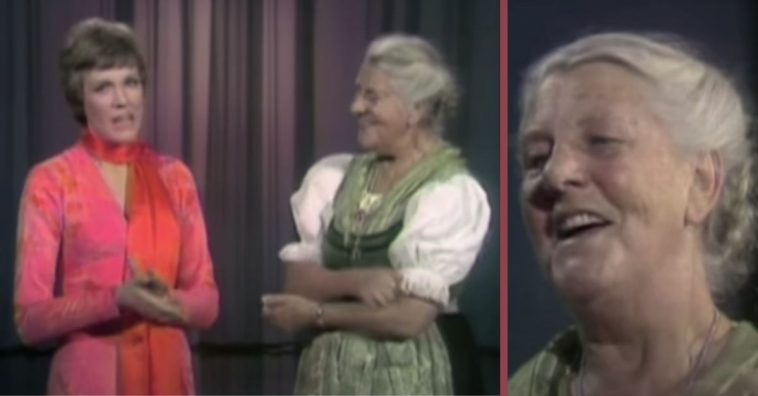 julie andrews met the real life maria von trapp