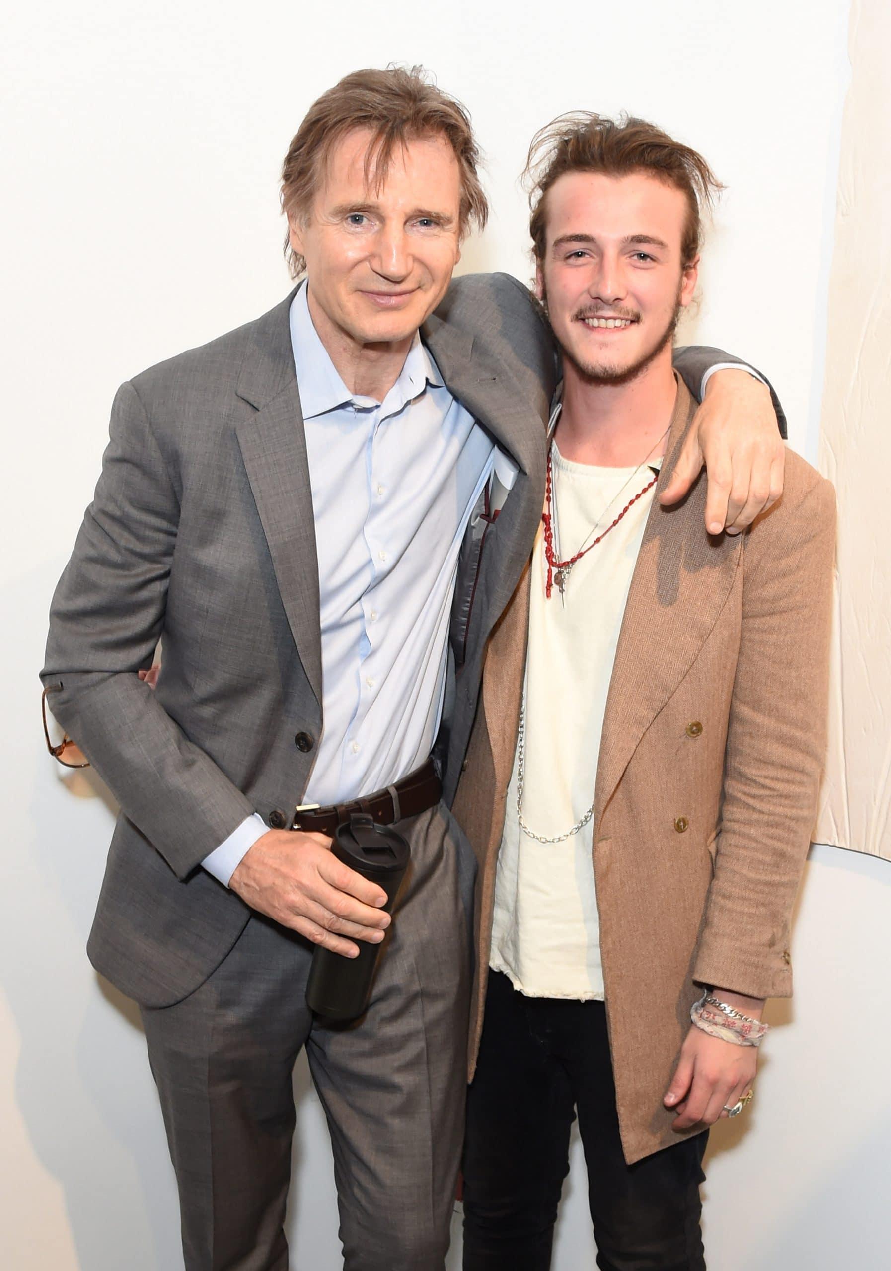 liam neeson and his son Micheál