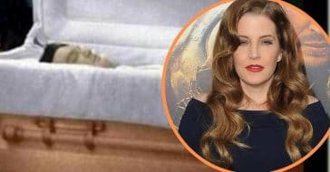 lisa marie presley left a special gift inside late father's coffin
