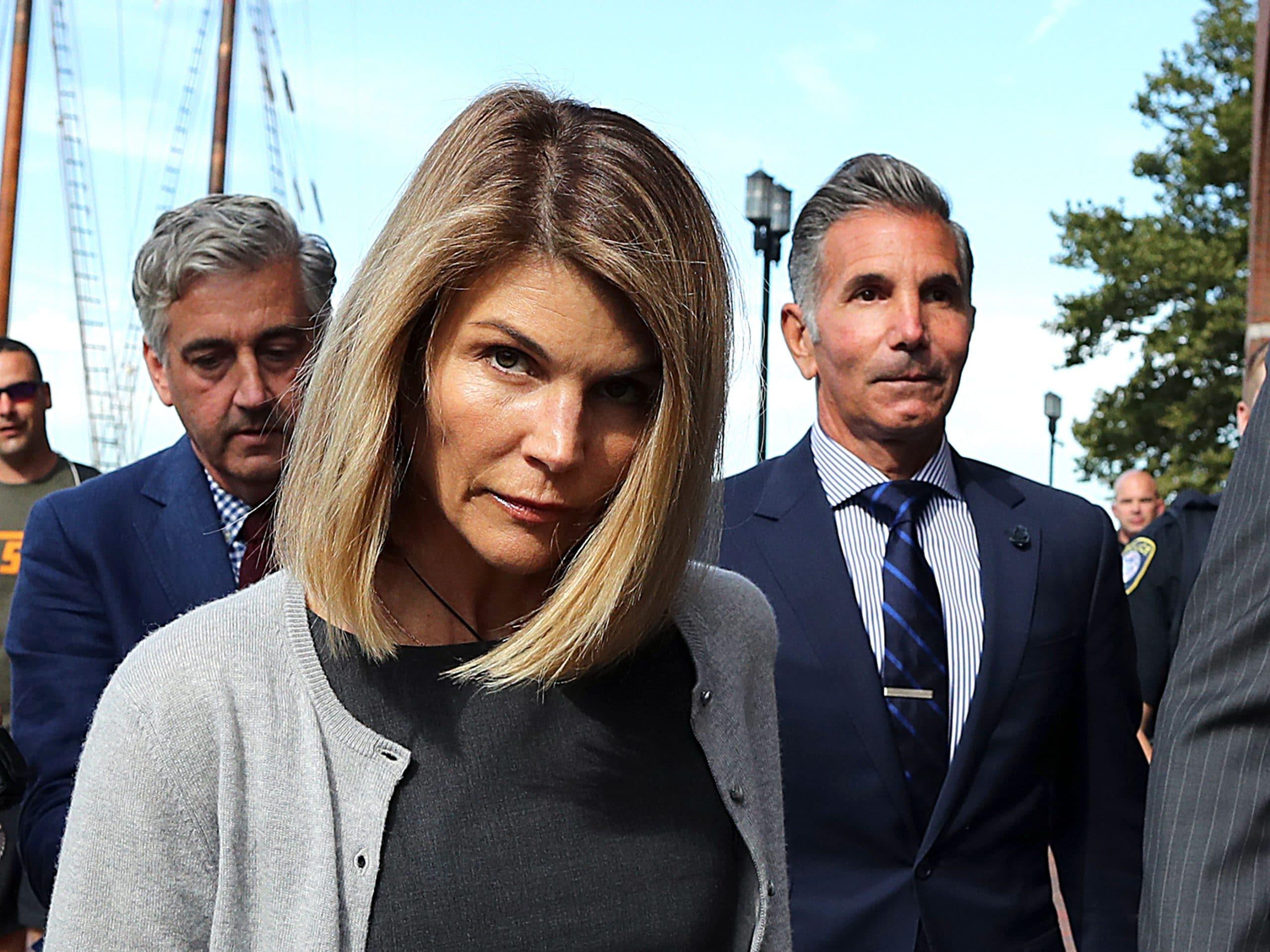 Lori Loughlin and her husband Mossimo Giannulli