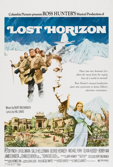 lost horizon movie poster
