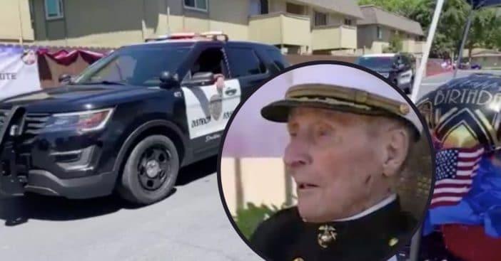 marine veteran turns 105