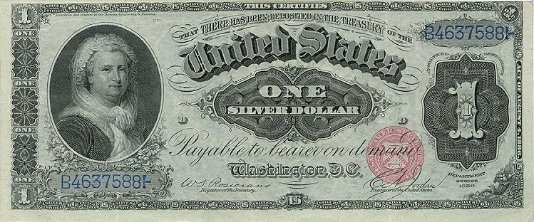 history of the dollar bill