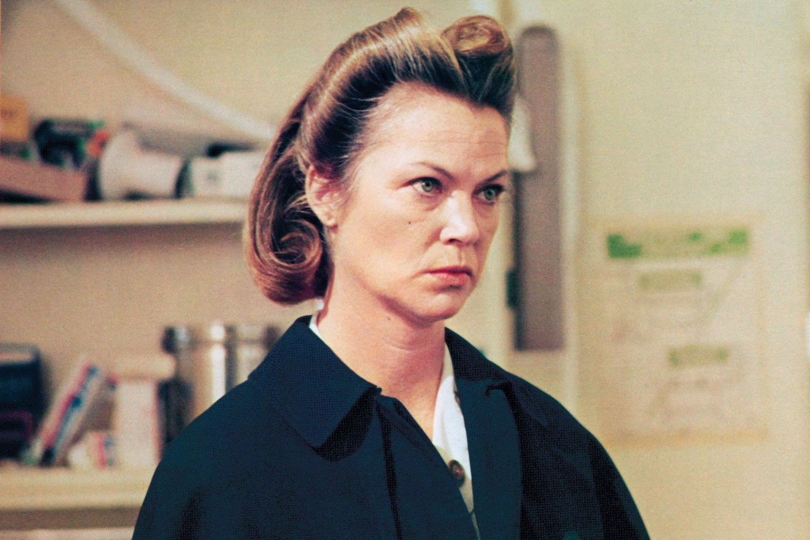 nurse mildred ratched louise fletcher one flew over the cuckoos nest