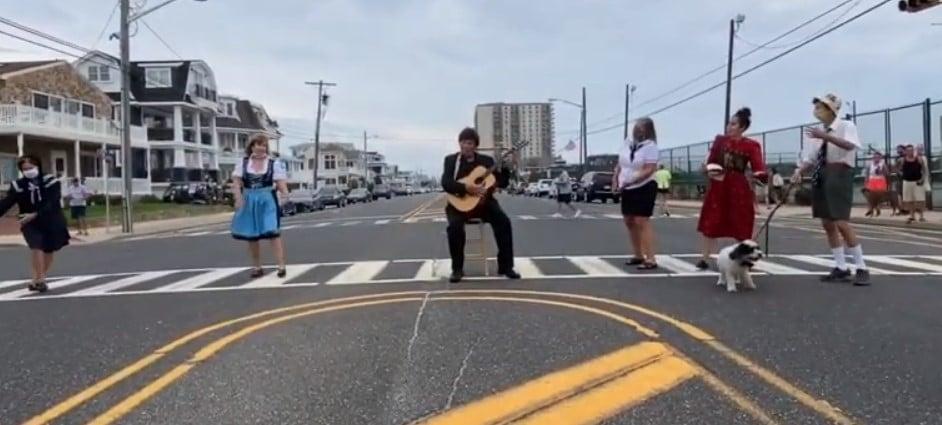 sound of music crosswalk musical longport nj