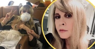 stevie nicks message for people who dont wear masks