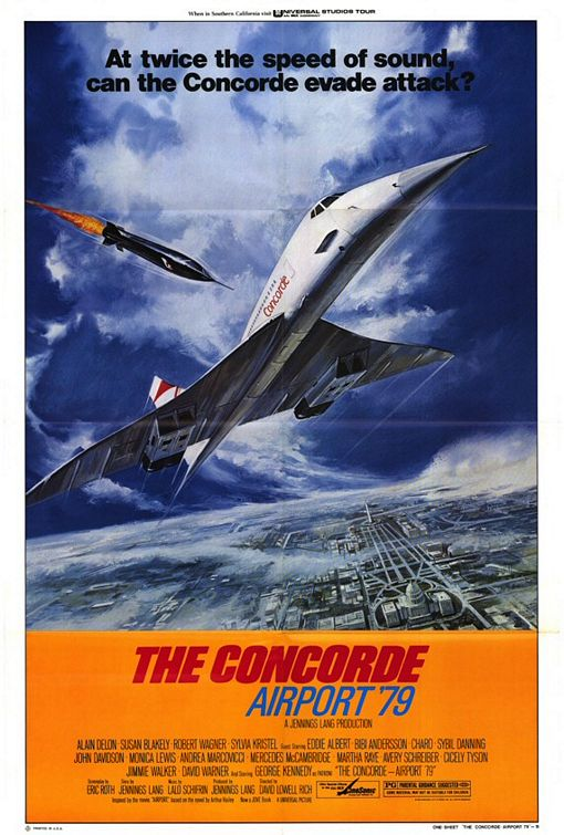 'The Concorde Airport '79' movie poster