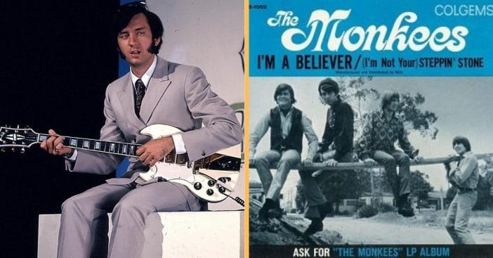 the monkees laughed at mike nesmith for wanting to change hit song