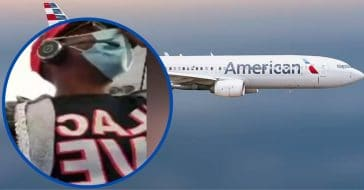woman kicked off flight for wearing an offensive mask