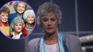 The Golden Girls And Bea Arthur