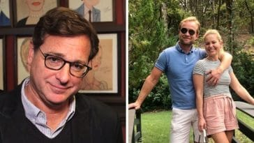 Bob Saget responds to controversial photo by Candace Cameron Bure