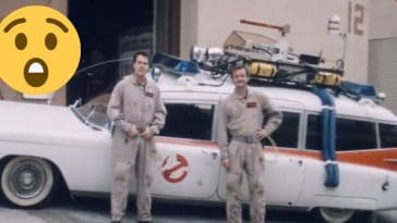 Check out this Ghostbusters promo from when the movie was being made