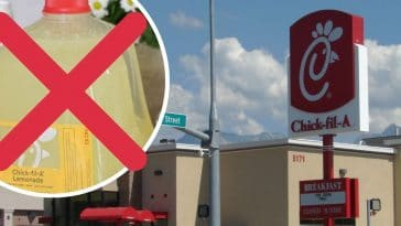 Customers are boycotting Chick fil A lemonade again