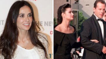 Demi Moore shares throwback photo with ex Bruce Willis