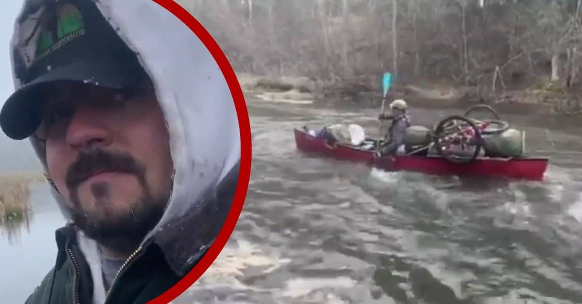 Double Amputee Canoes Along Whole Mississippi River For Disabled Veterans