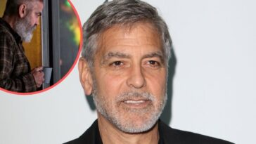George Clooney looks unrecognizable in first film in four years