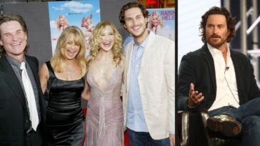 Kurt Russell Goldie Hawn Kate And Oliver Hudson