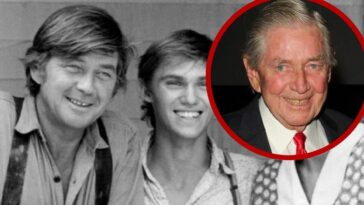 Ralph Waite had a strong presence through TV