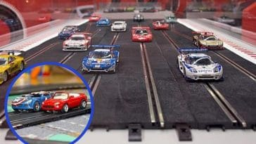 Slot car racing still has many enthusiasts collecting and racing these small models