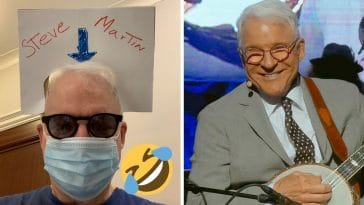 Steve Martin shares hilarious joke about not being recognized in masks