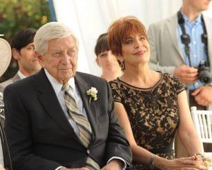 BONES, (from left): Ralph Waite, Joanna Cassidy