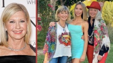 chloe lattanzi honors olivia newton-john for 72nd birthday