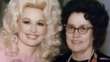dolly parton's mom sewed her toes back on after an accident