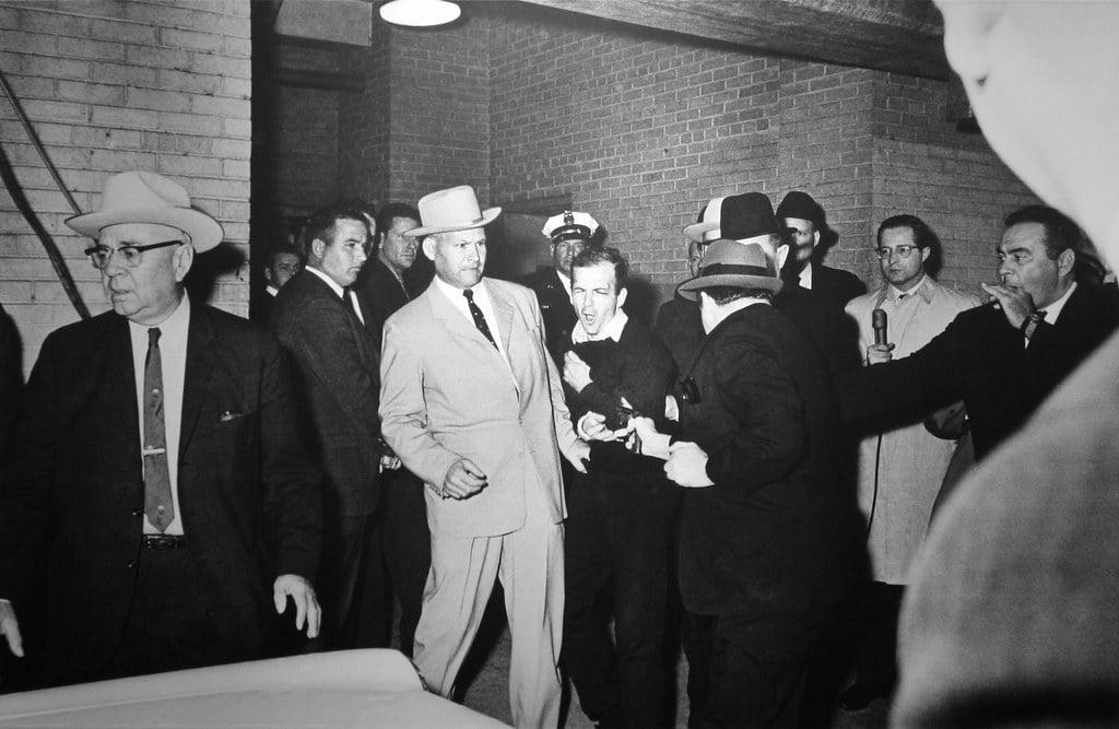 Jack Ruby shooting Lee Harvey Oswald