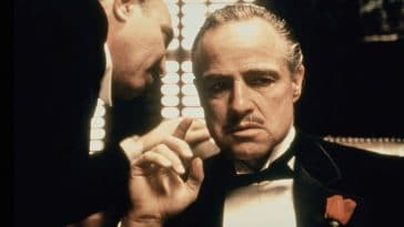 Marlon Brando in 'The Godfather'