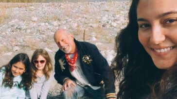Bruce Willis and his family enjoy the great outdoors