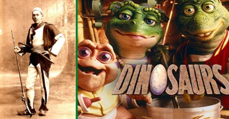 'Dinosaurs' took a lot of inspiration from history