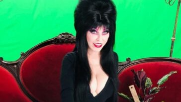 Elvira is staying home for Halloween for the first time in 40 years