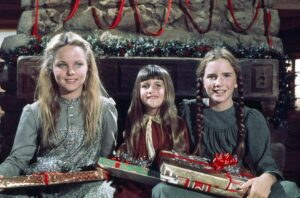 Melissa Sue Anderson, left, as Mary Ingalls
