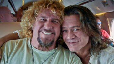 Sammy Hagar says he reconciled with Eddie Van Halen before his death