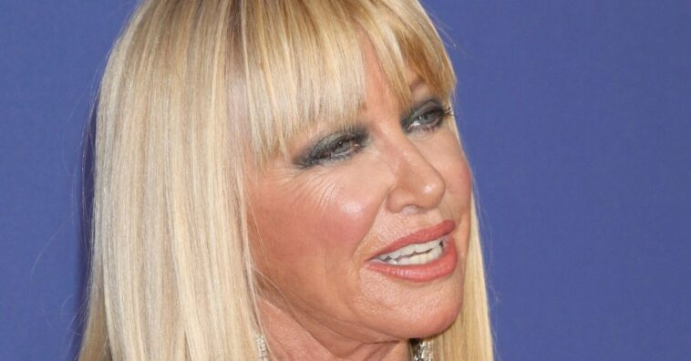 Suzanne Somers recovering from neck injury