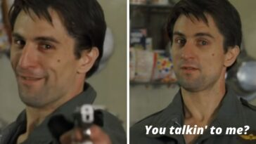 The story behind the famous Taxi Driver line You Talkin to me