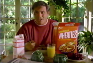 Wheaties often receives credit for streamlining jingles in commercials