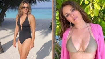 elizabeth hurley swimsuit photo