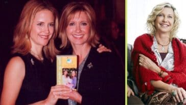 olivia newton-john honors late friend kelly preston