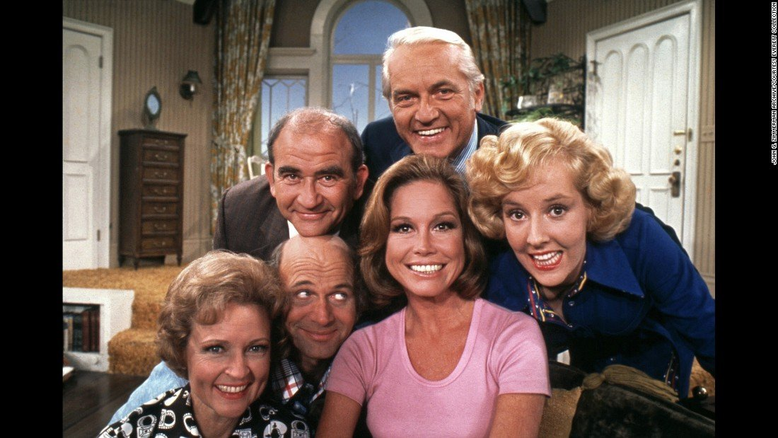'The Mary Tyler Moore Show' cast