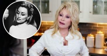 Dolly Parton shows off real hair