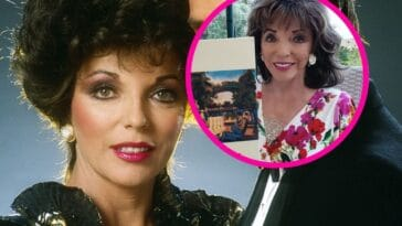 Joan Collins from Dynasty