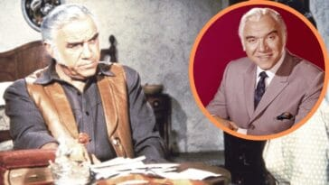 Lorne Greene before and after