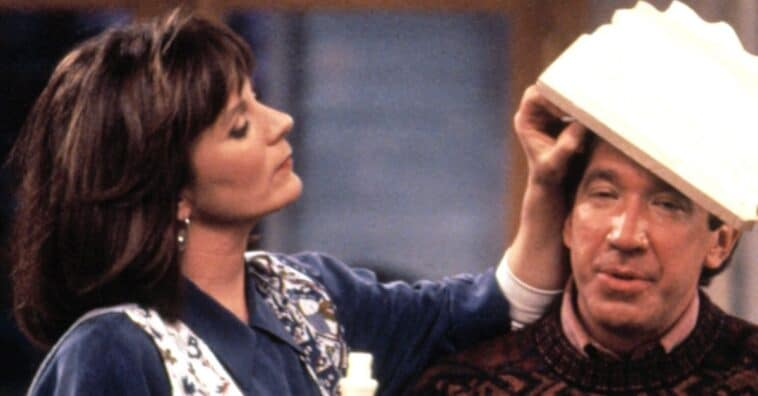 Patricia Richardson talks about chemistry with Tim Allen in Home Improvement