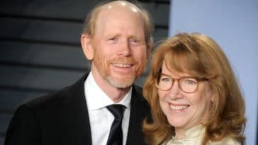 Ron Howard and his wife Cheryl celebrate the 50th anniversary of their first date